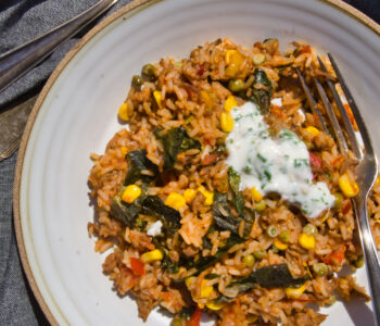 One Pot Tex-Mex Reispfanne